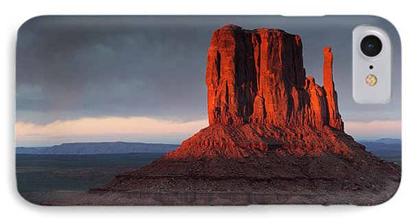 Sunset At Monument Valley IPhone Case
