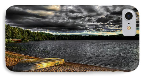 Sunset At Nicks Lake IPhone 7 Case by David Patterson