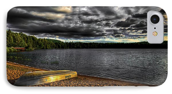 Sunset At Nicks Lake IPhone Case by David Patterson