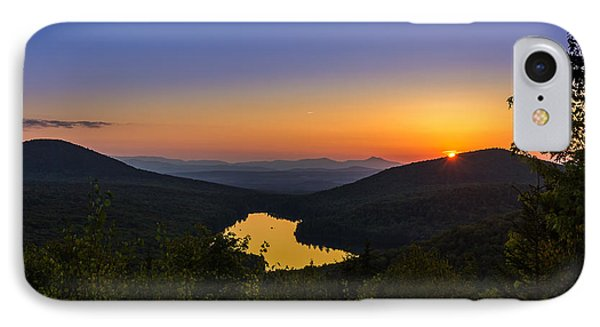 Sunset At Owls Head IPhone Case by Tim Kirchoff