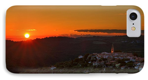 Sunset At Padna IPhone Case