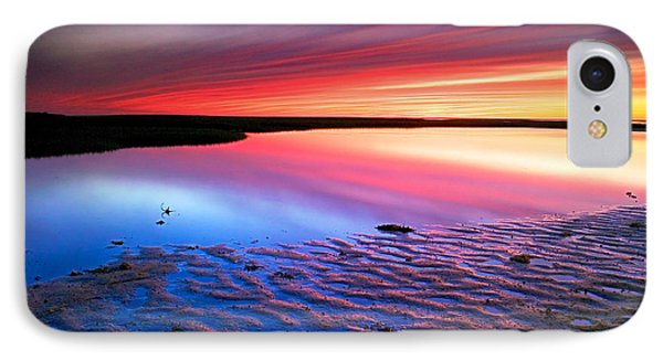 Sunset At Paines Creek Cape Cod IPhone Case by Matt Suess