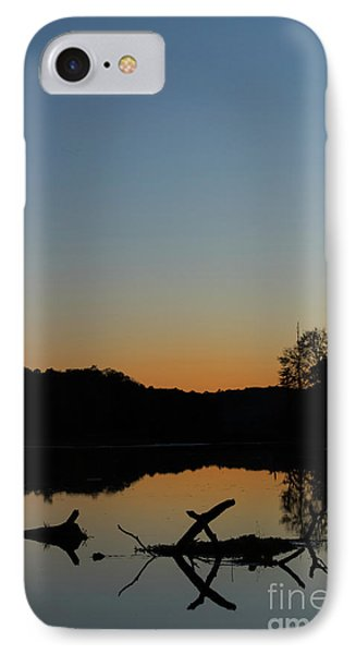 Sunset At Paulinskill Lake IPhone Case by Nicki McManus