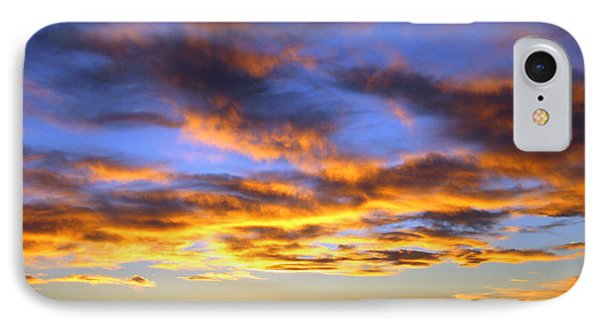 Sunset At Picacho Peak IPhone Case by Kurt Van Wagner