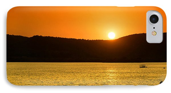 IPhone Case featuring the photograph Sunset At Pichola Lake by Yew Kwang