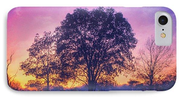 Sunset At Retzer Nature Center IPhone Case by Jennifer Rondinelli Reilly - Fine Art Photography
