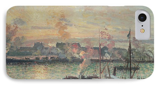 Sunset At Rouen IPhone Case