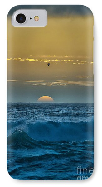 Sunset At Sea IPhone Case by Billie-Jo Miller