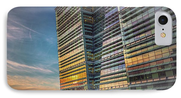 Sunset At Snowhill IPhone Case