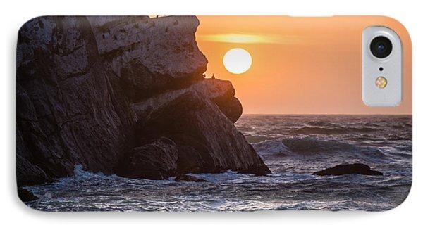 Sunset At Star Gazer Rock B3955 IPhone Case