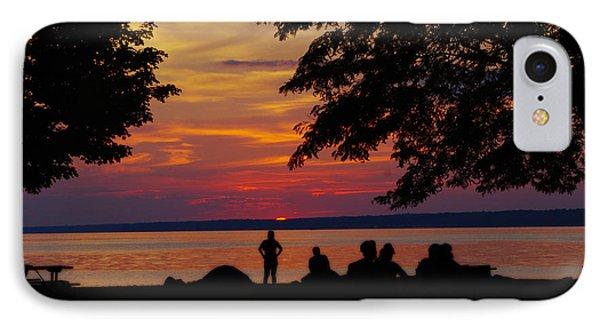Sunset At Sylvan Beach IPhone Case