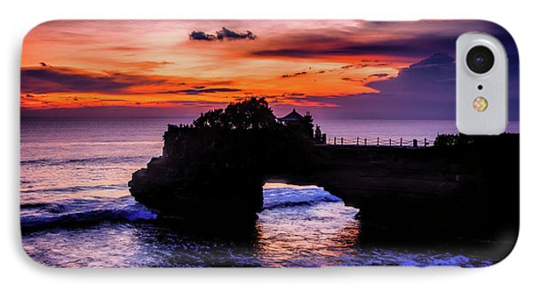 Sunset At Tanah Lot IPhone Case