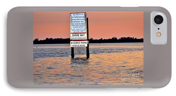 Sunset At The J.n. Ding Darling National Wildlife Refuge IPhone Case