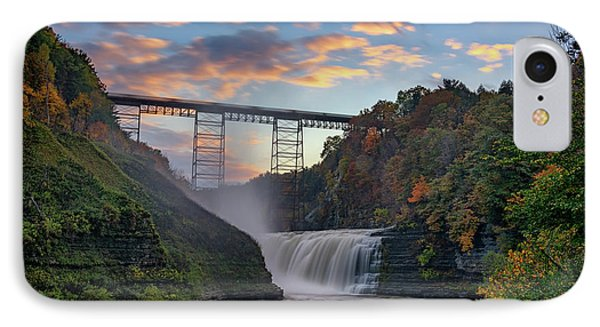 Sunset At The Upper Falls IPhone Case