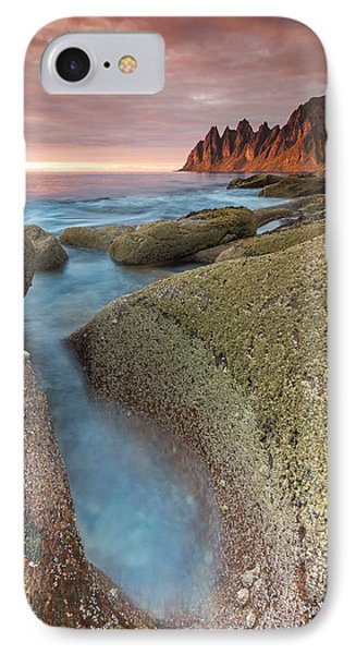 Sunset At Tungeneset IPhone Case