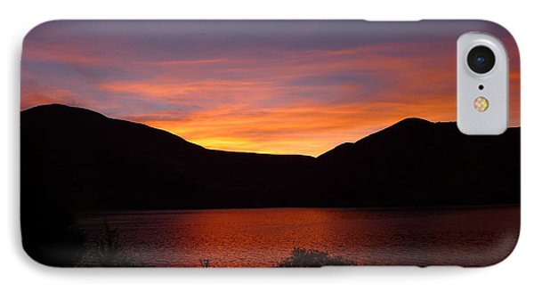 IPhone Case featuring the photograph Sunset At Woodhead Campground  by Joel Deutsch