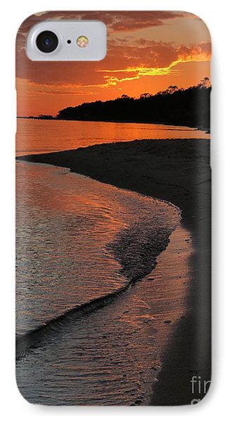 Sunset Bay IPhone Case by Lori Mellen-Pagliaro