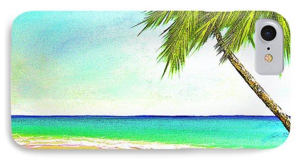 Sunset Beach #373 Phone Case by Donald k Hall