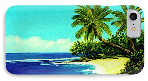 Sunset Beach Art North Shore Of Oahu In Summer #100 Phone Case by Donald k Hall