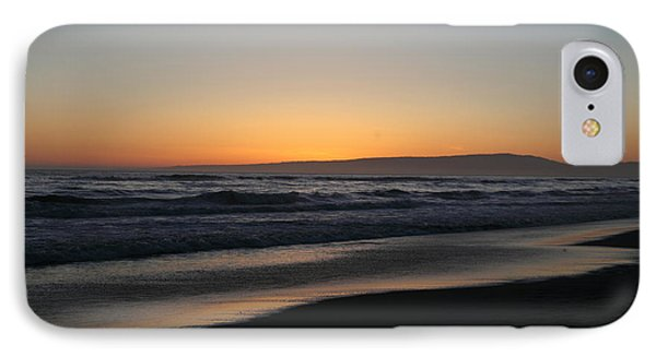 Sunset Beach California Phone Case by Amanda Barcon