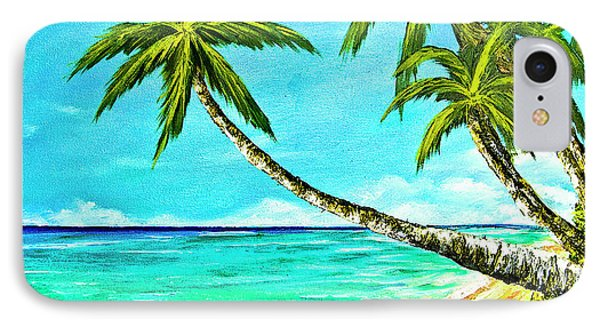 Sunset Beach#370  Phone Case by Donald k Hall