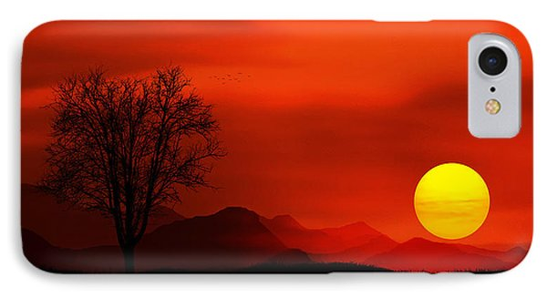 Sunset IPhone Case by Bess Hamiti