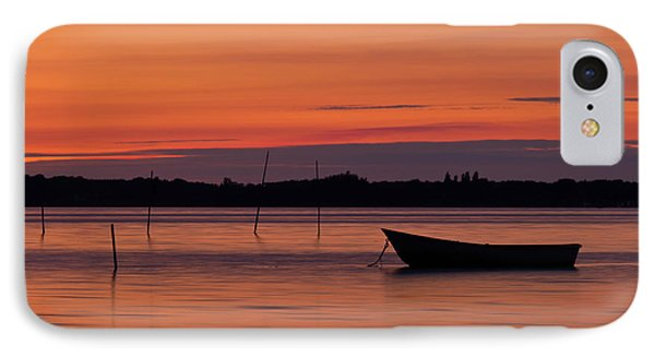 Sunset Boat IPhone Case by Gert Lavsen