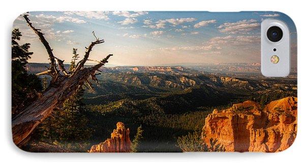 Sunset Bryce IPhone Case by Rebecca Hiatt