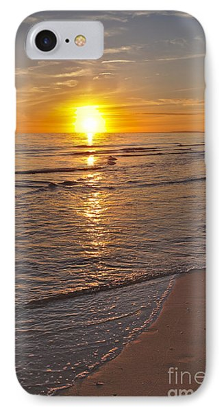 Sunset By The Beach IPhone Case by Angelo DeVal