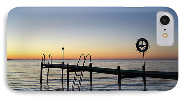 Sunset By The Old Bath Pier IPhone Case by Kennerth and Birgitta Kullman