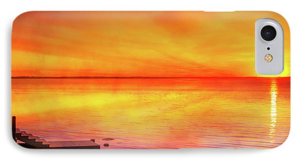 Sunset By The Shore IPhone Case