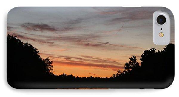 Sunset Canoe Phone Case by Ty Helbach