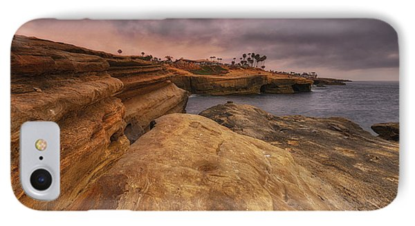IPhone Case featuring the photograph Sunset Cliffs - Point Loma - San Diego by Photography  By Sai