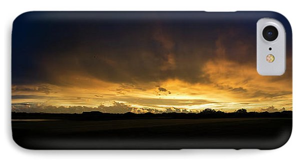 IPhone Case featuring the photograph Sunset Clouds by Brian Jones