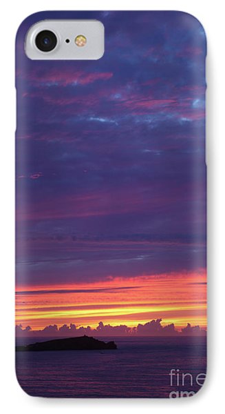 IPhone Case featuring the photograph Sunset Clouds In Newquay, Uk by Nicholas Burningham