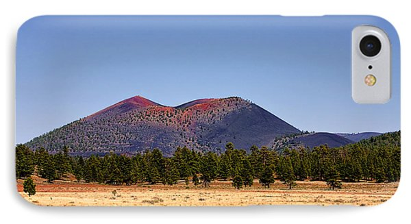 Sunset Crater Volcano National Monument Phone Case by Christine Till