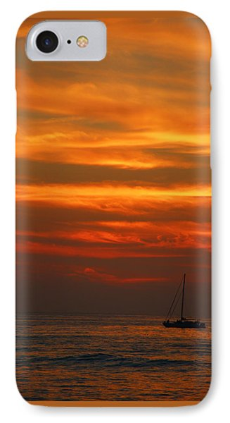 IPhone Case featuring the photograph Sunset Cruise Waikoloa Hawaii by Kerri Ligatich
