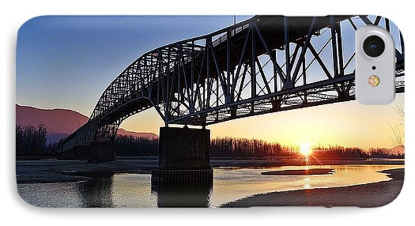 Fraser River, Bc  IPhone Case by Heather Vopni
