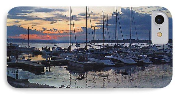 Sunset Dock IPhone Case by Felipe Adan Lerma