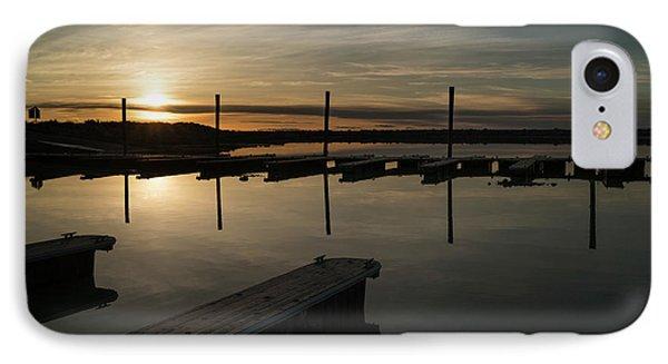 Sunset Docks Phone Case by Justin Johnson