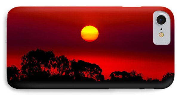 Sunset Dreaming IPhone Case by Az Jackson