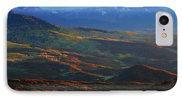 IPhone Case featuring the photograph Sunset During Autumn Below The San Juan Mountains In Colorado by Jetson Nguyen