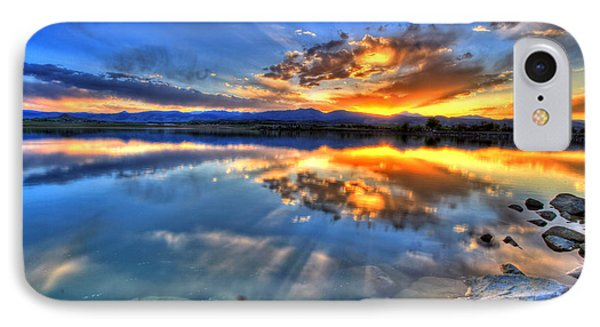 Sunset Explosion IPhone Case by Scott Mahon