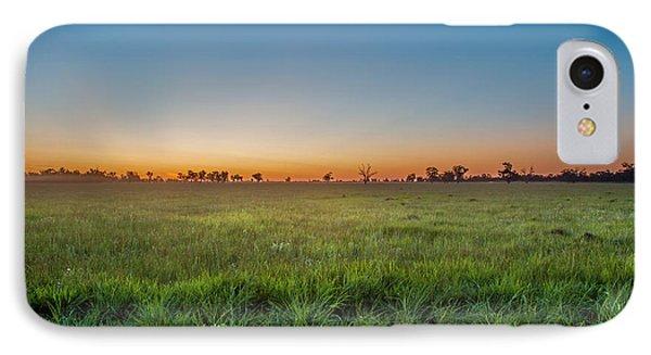 Sunset Fields IPhone Case by Az Jackson