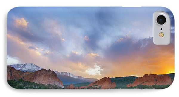 IPhone Case featuring the photograph Sunset Forever by Tim Reaves