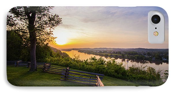 Sunset From Boreman Park IPhone Case by Jonny D