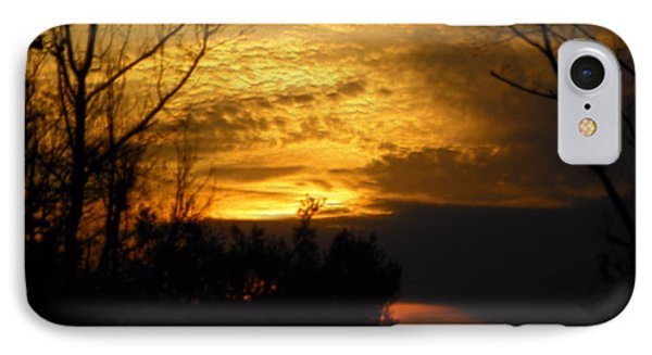 Sunset From Farm IPhone Case by Craig Walters