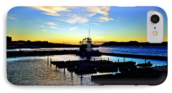 IPhone Case featuring the photograph Sunset From Pier 39 - San Fransisco by Glenn McCarthy Art and Photography