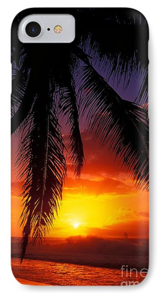 Sunset From The Beach Phone Case by Vince Cavataio - Printscapes