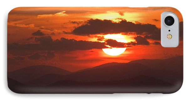 Sunset From The Blue Ridge Parkway Phone Case by John Harmon